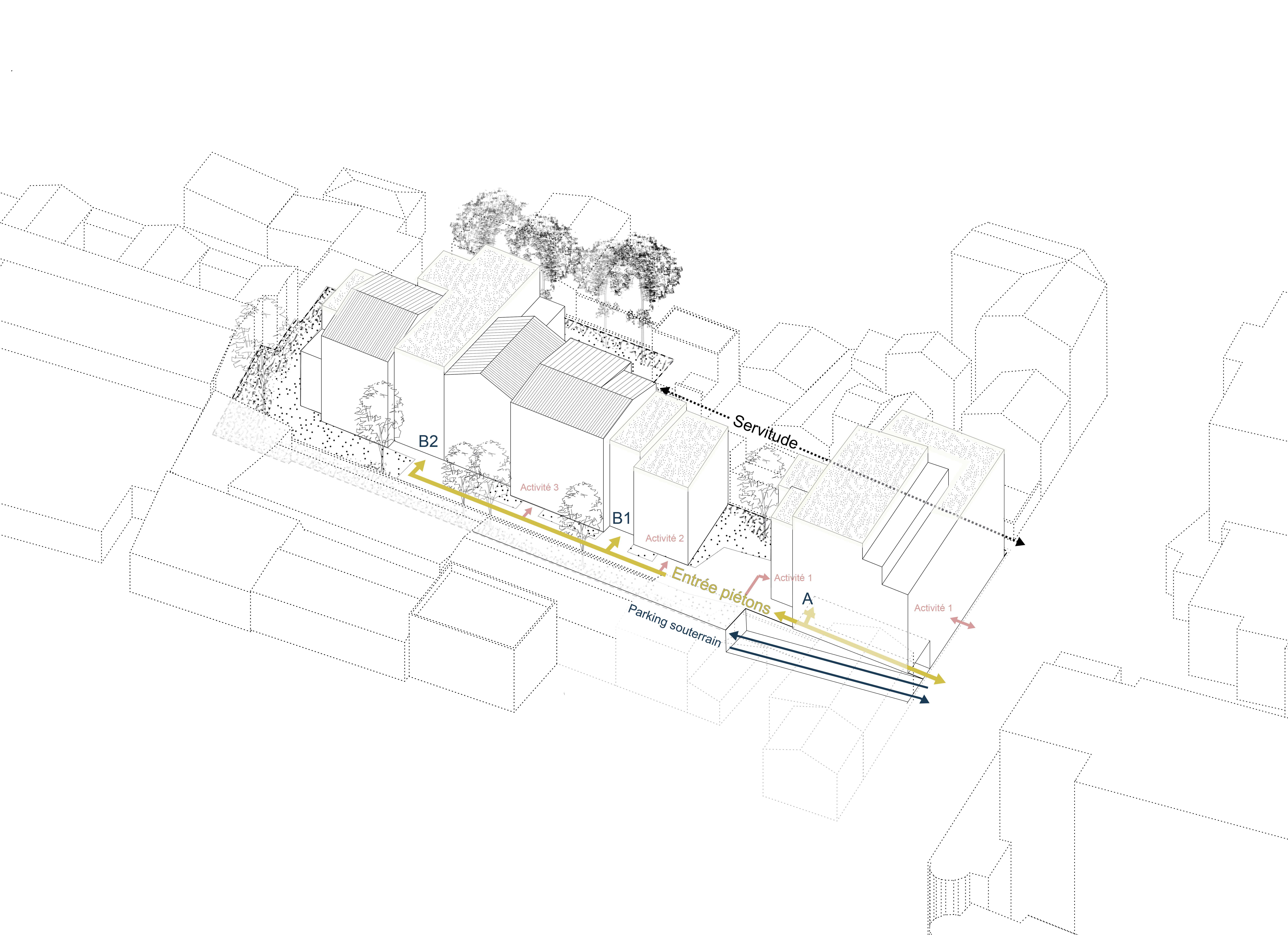 GCG_Architectes-Montreil-Schéma-Accès