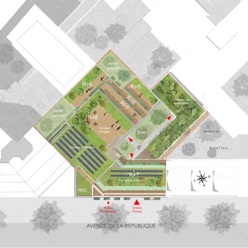 Pitch_GCG_Architectes_Paris_PlanMasse